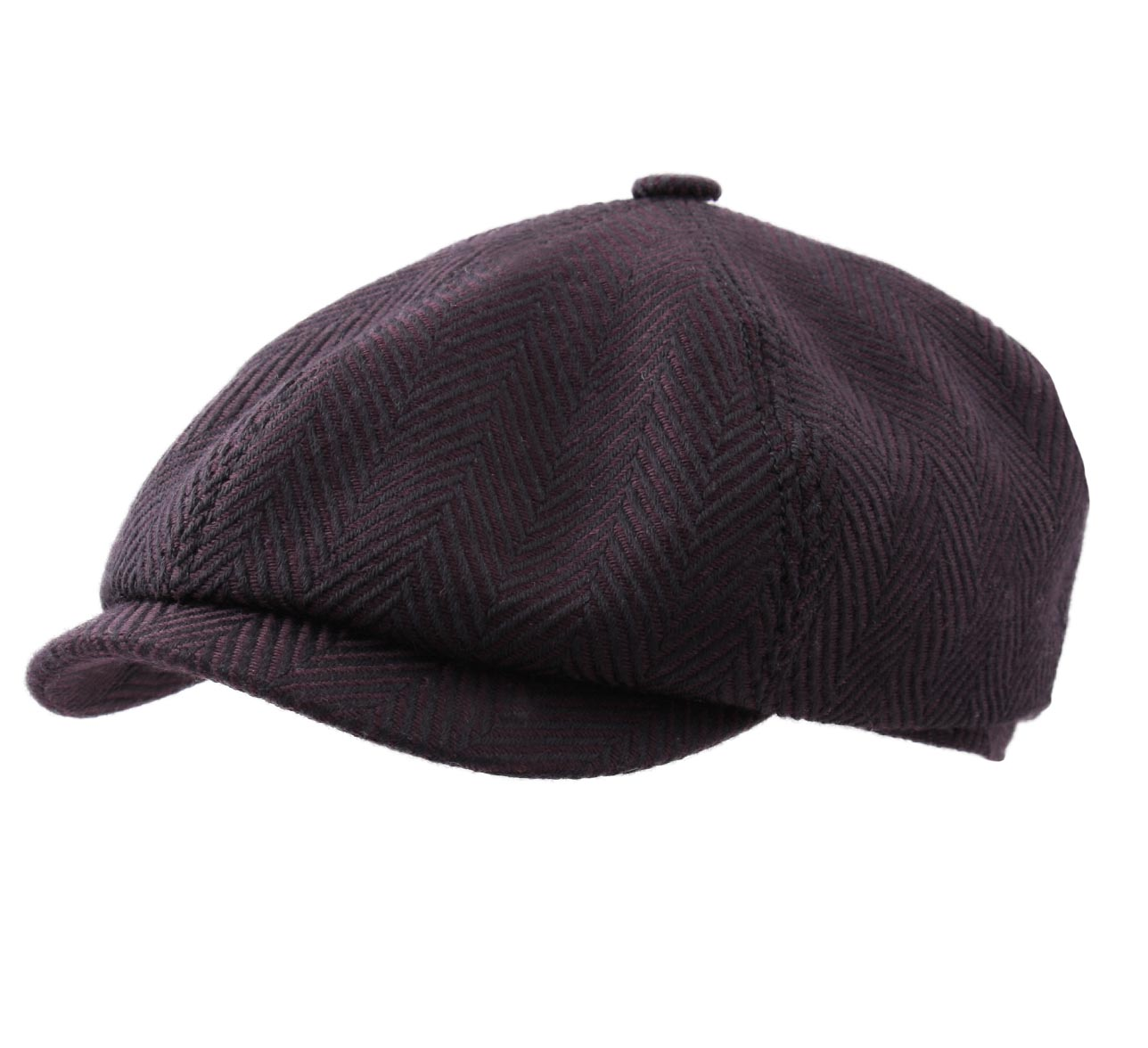 Casquette et Béret Chic Panel Cap Wool Panel Cap Wool