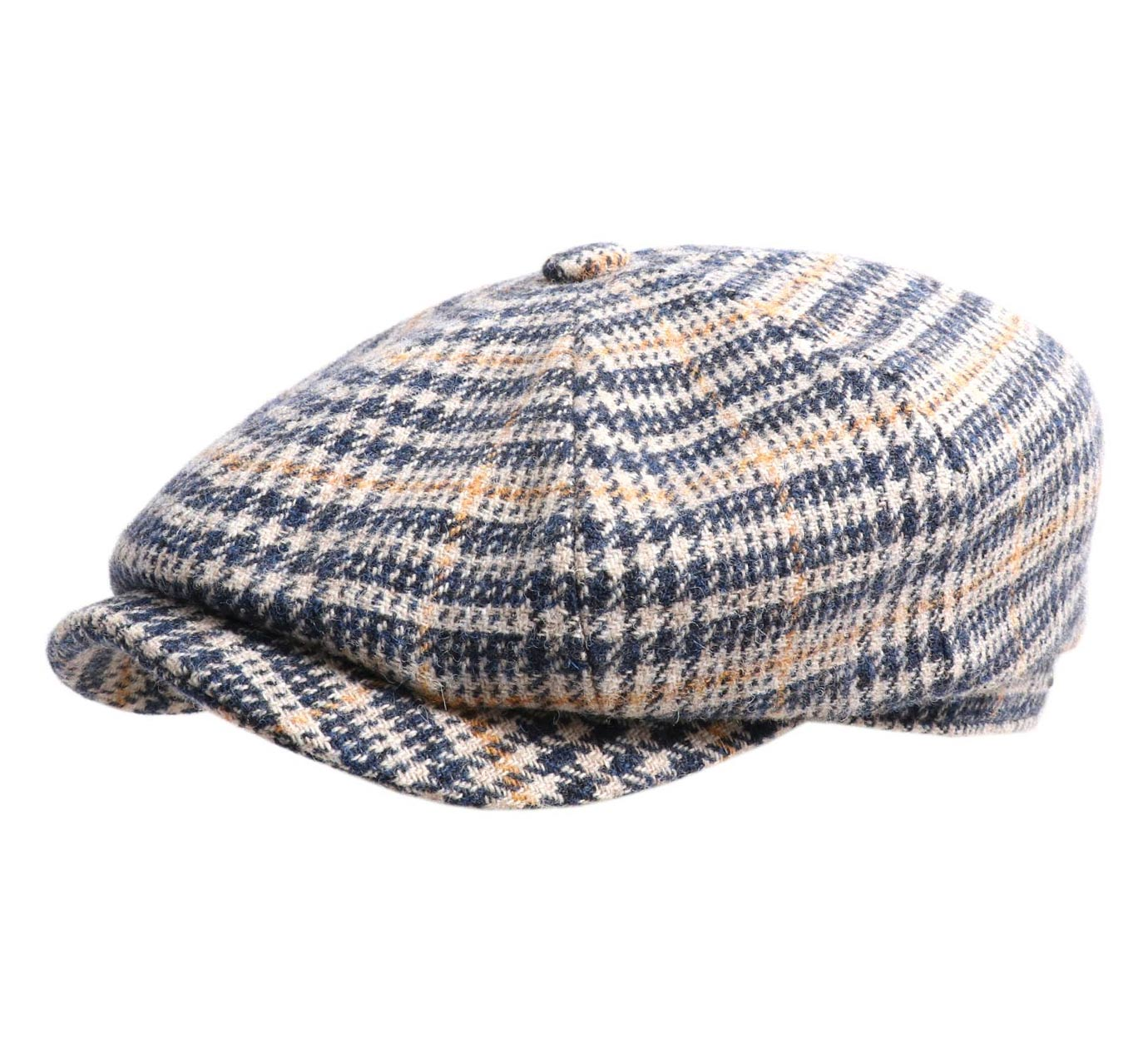 casquette laine Stetson Hatteras Wool Check