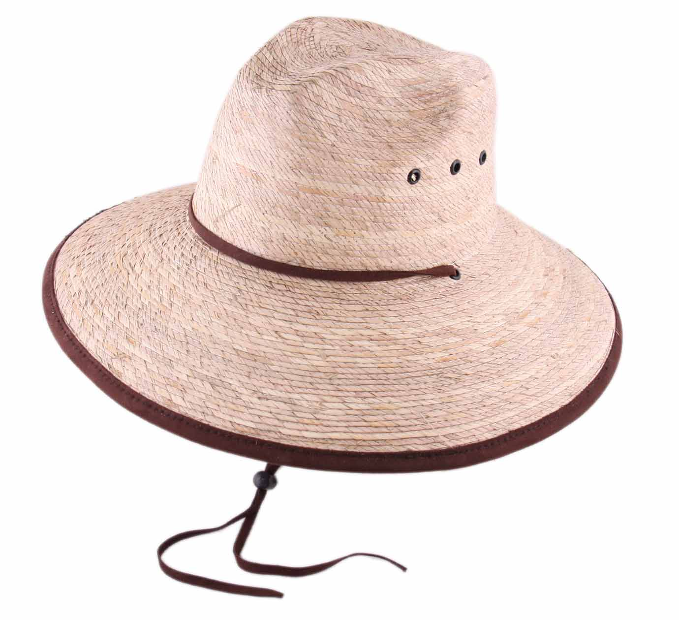 chapeau grand bord Calil