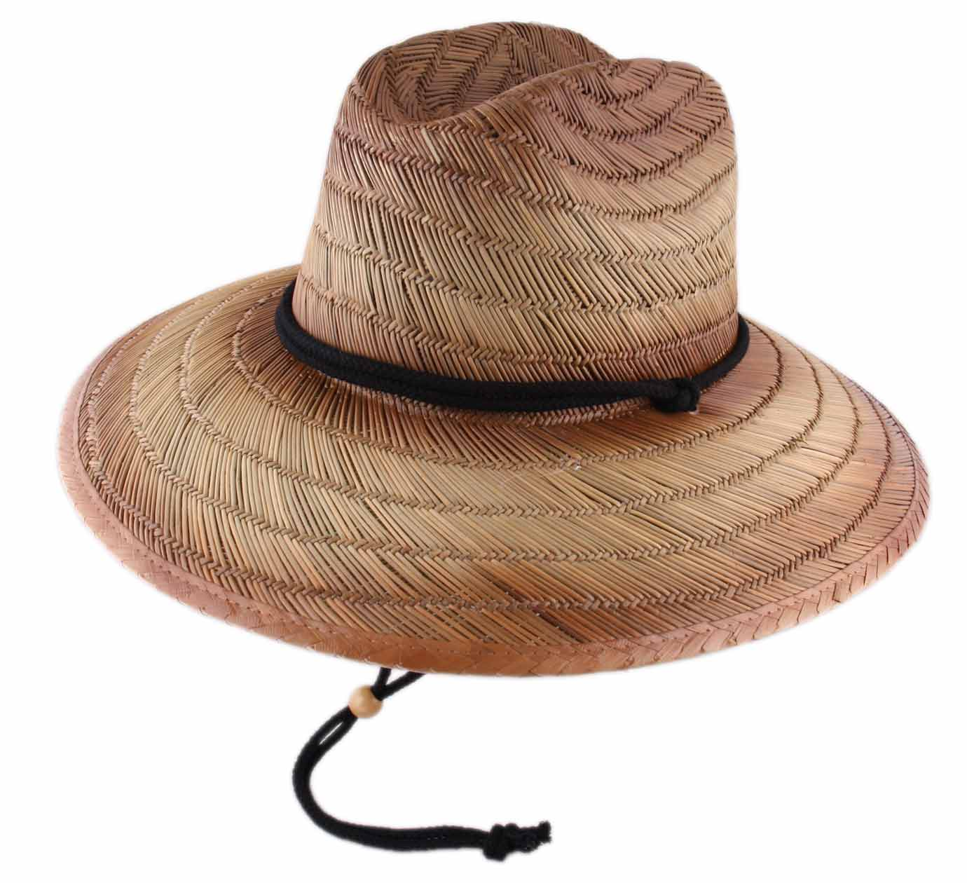chapeau paille large Thai